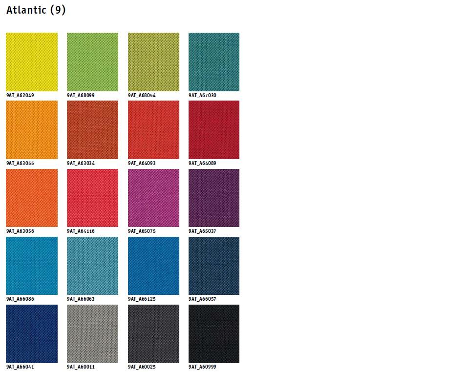 Tapizados tela colores Silla Operativa EARLY BIRD eb-100 y eb-102 de SEDUS