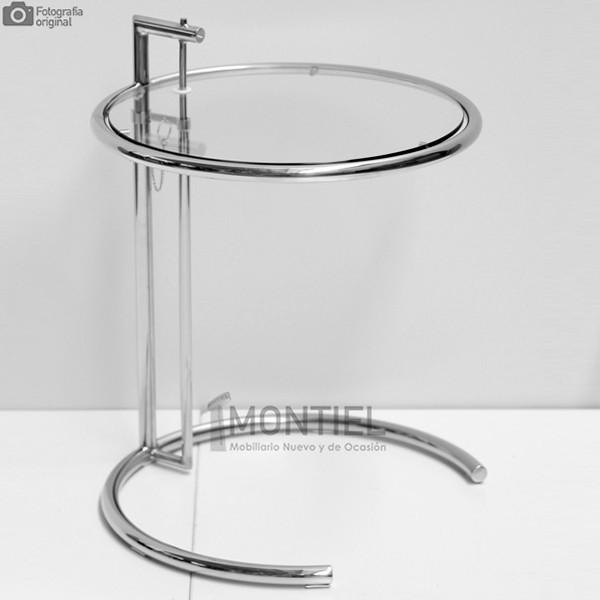 Mesa Rincón de Cristal inspirada en el diseño de Eileen Gray