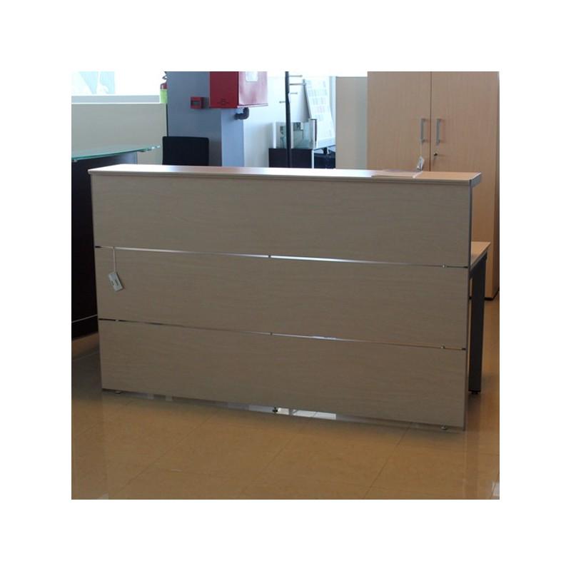 Mostrador recepci n herpesa serie r3 muebles de oficina for Medidas de muebles de oficina pdf