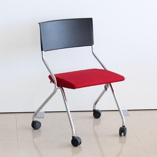 Silla modelo Flip Flap de SEDUS en rojo