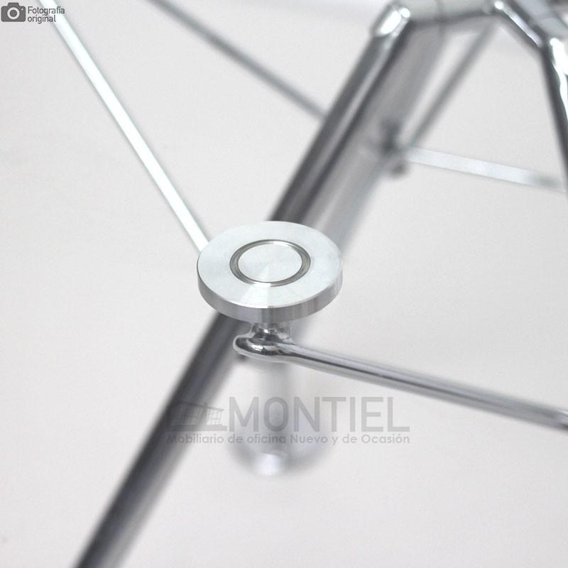 Mesa Oficina Cristal Serie 923 de 120 cm. diámetro
