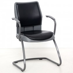 Silla SWIFT de STEELCASE confidente patín