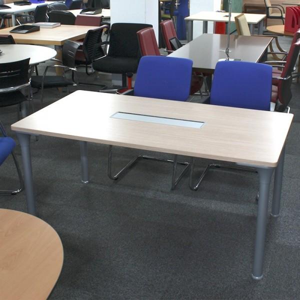 Mesa de juntas 160 cm. Arce