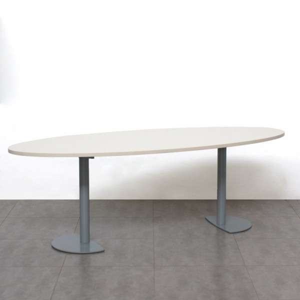 Mesa de Reunión 220 cm. Blanca