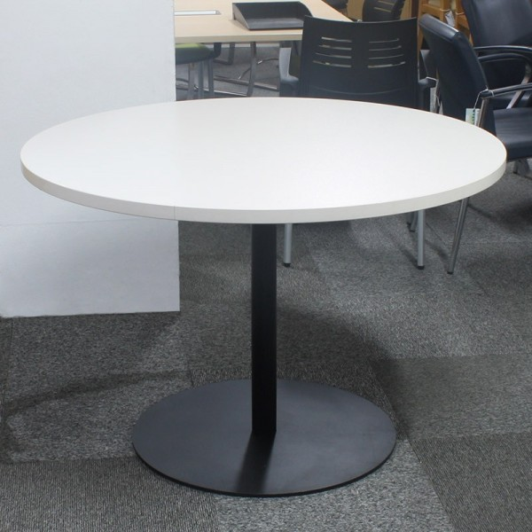Mesa de Reuniones 110 cm. Blanco