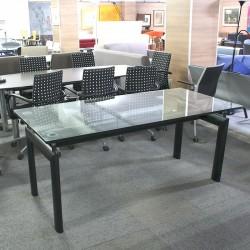 Mesa de Reunión 170 cm. Cristal