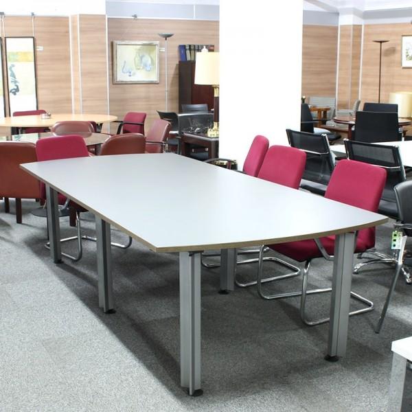 Mesa de Reunión 260 cm. gris