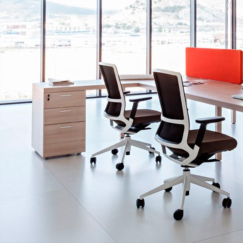 Mesa de Despacho con Cajonera Prisma de Actiu