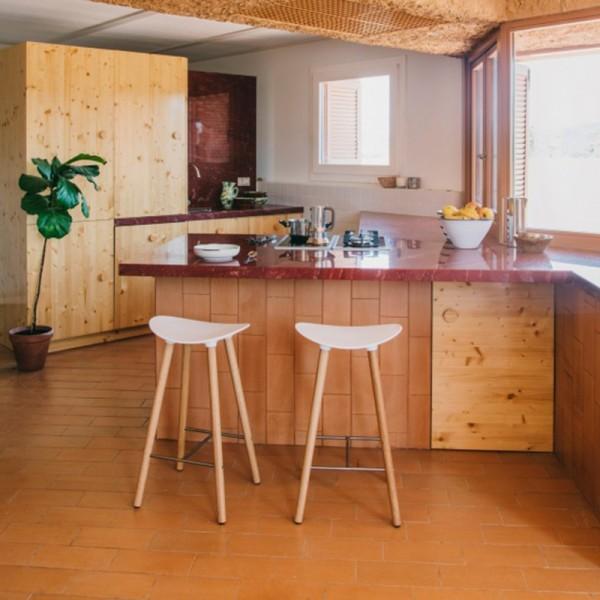Taburete Coma Wood de ENEA