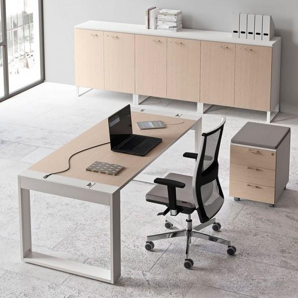 Mesa de Oficina Personalizable de Las Mobili