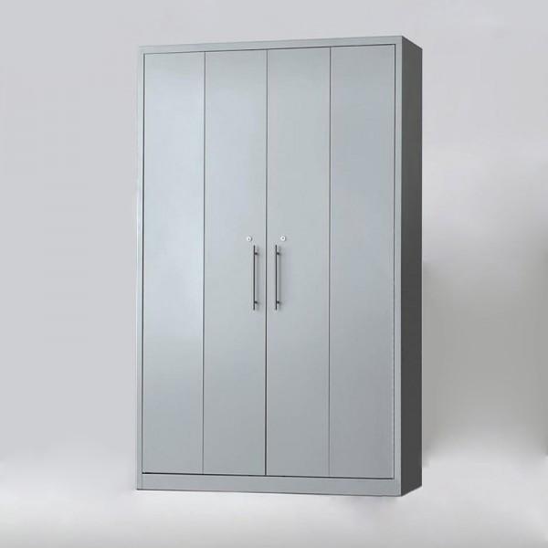 Armario de Puertas Abatibles Articuladas Metálicas de MoreSquared