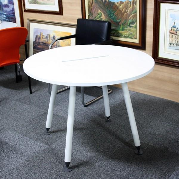 Mesa de Reuniones 100 cm. blanco