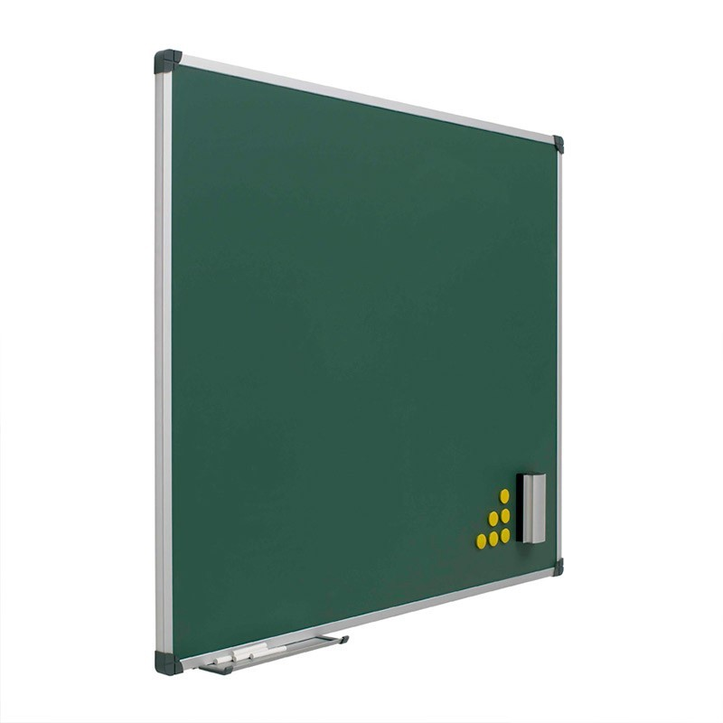 Pizarra Mural Verde Acero Vitrificado de Planning Sisplamo