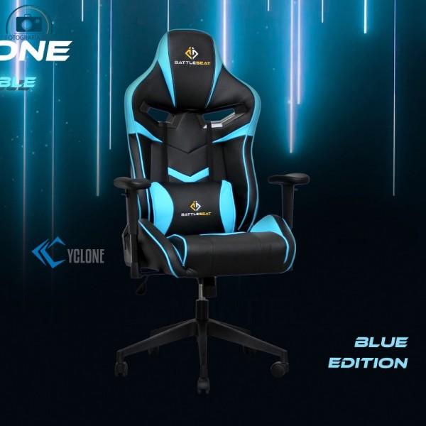 Silla Gaming Cyclone de BattleSeat Azul