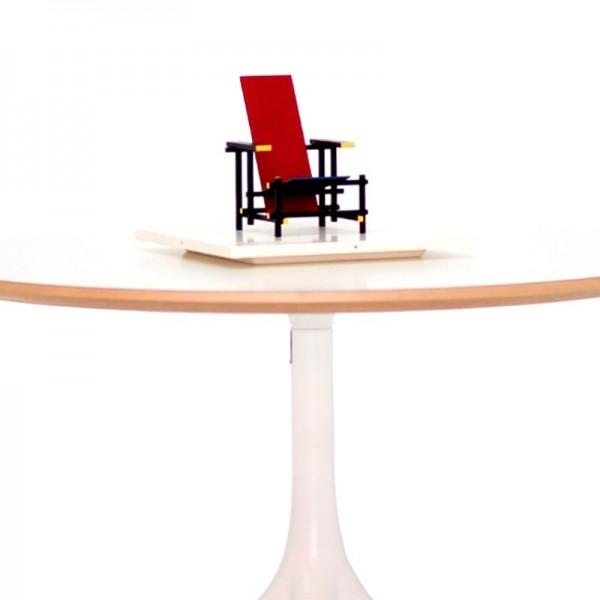 Miniatura ROOD BLAUWE STOEL de VITRA