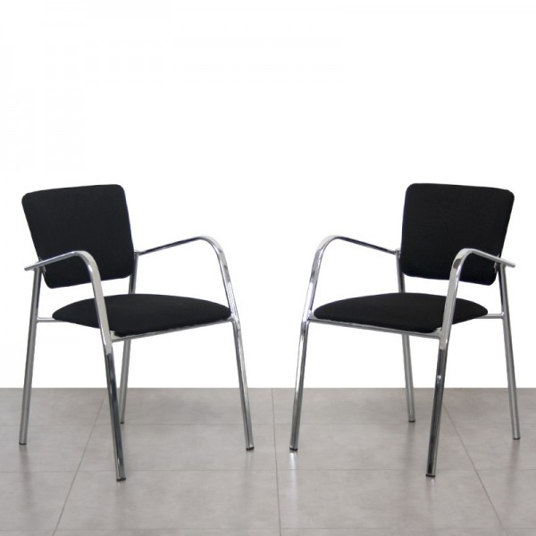 Pack de 2 sillas Visitantes Nalia de Luyando