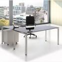 Mesa de Dirección de Cristal Teseo de Ismobel comprar online