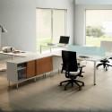 Mesa de Dirección con Credencia Serie Teseo de Ismobel