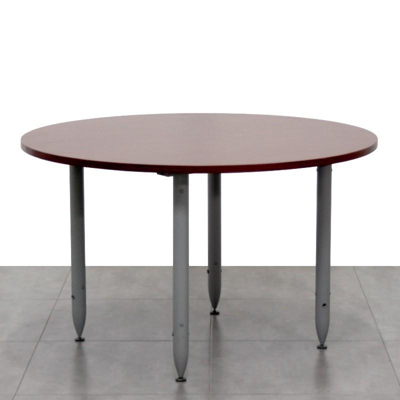 Mesa de Reunión 120 cm Caoba