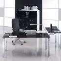 Mesa de Dirección Serie Rock 4 Cristal de Mobel Línea comprar online