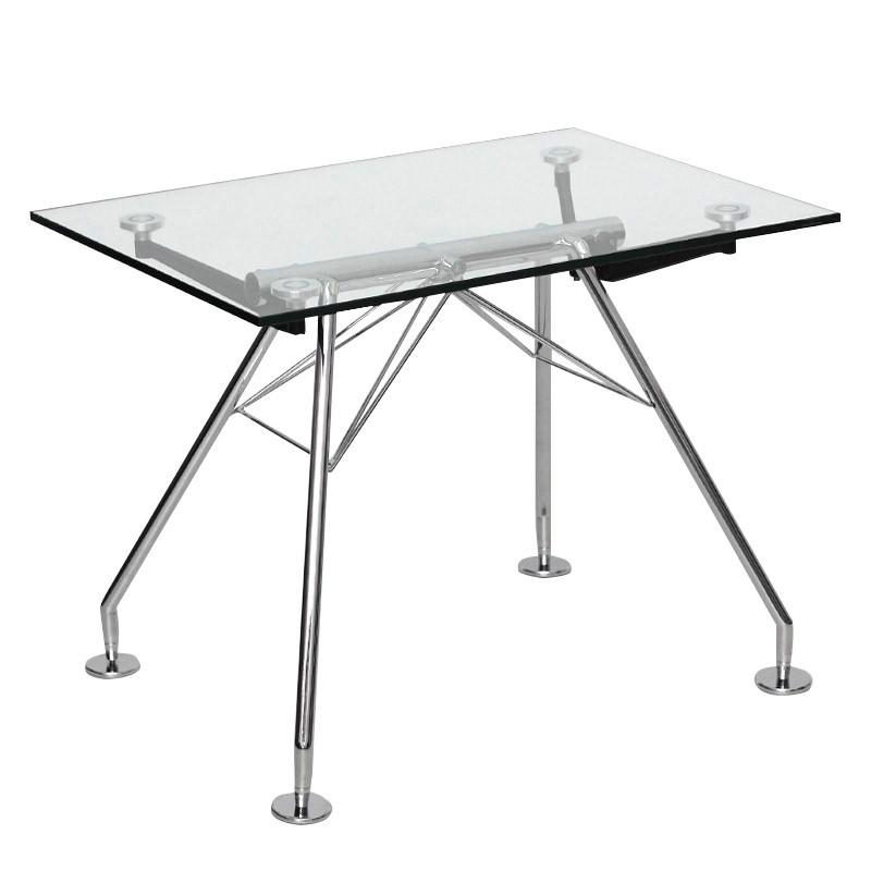 Mesa de Cristal para Oficina Serie NEW GLASS