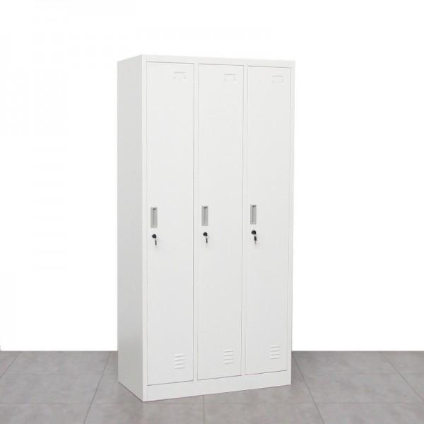 Taquillas de Vestuario 3 puertas