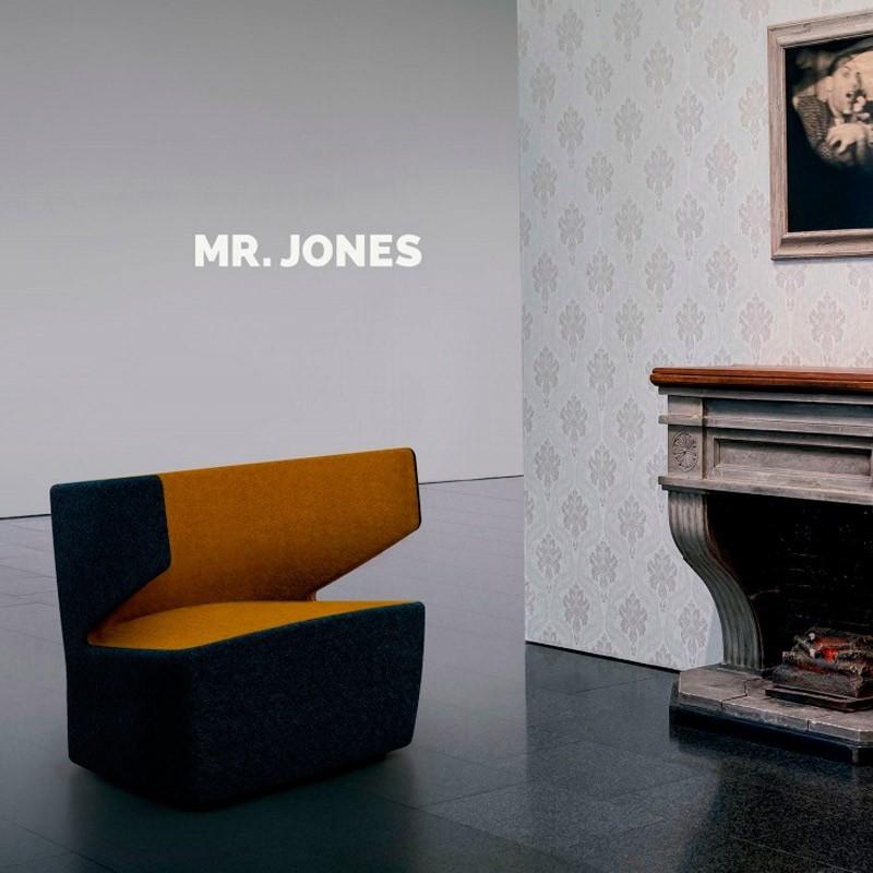 Sillón de Espera Mr. Jones de Mobel Linea