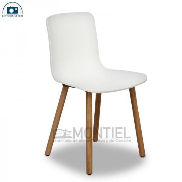 Silla de Diseño Hal Wood de Vitra