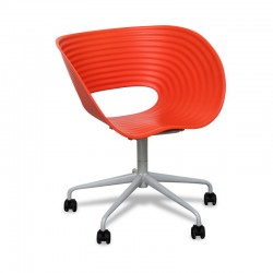 Silla Confidente con Ruedas Tom Roll de Vitra