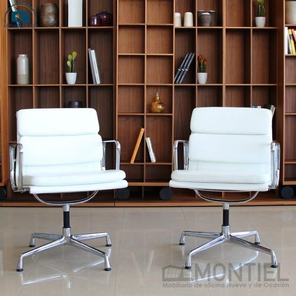 sillas diseño blancas
