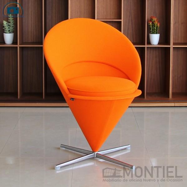 Cone Chair Naranja de Vitra