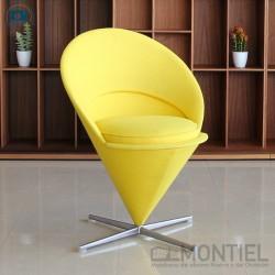 Sillón Cone Chair Amarilla de Vitra