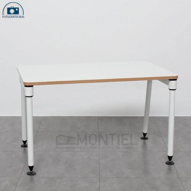 Mesa Escritorio Blanca de Herman Miller - Muebles Montiel