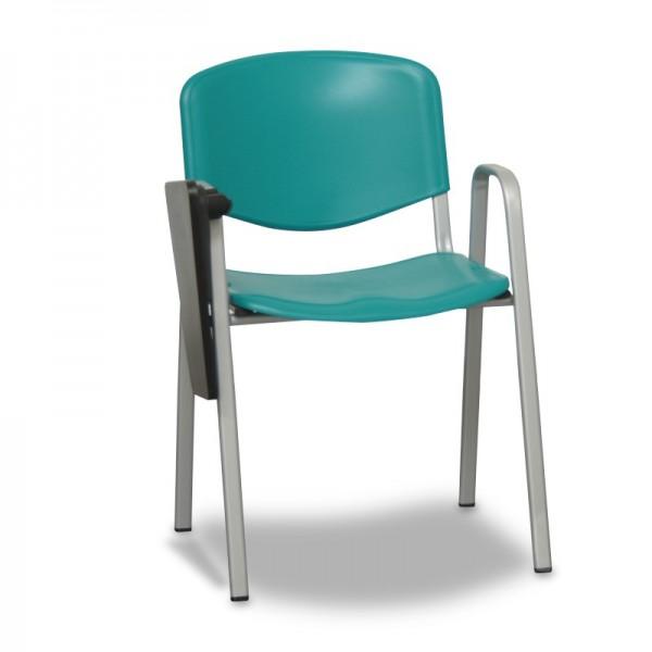 silla para colegio con pala de escritura