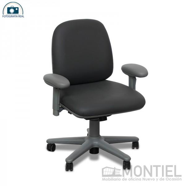 Silla de escritorio giratoria gris grafito oferta limitada