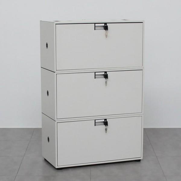 Archivador Blanco de Oficina Steelcase FlexBox