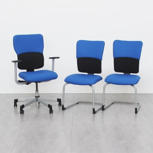 Pack de 3 sillas LET'S B de Steelcase