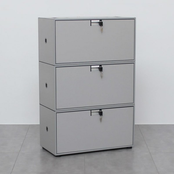 Archivador Gris de Oficina Flexbox de Steelcase