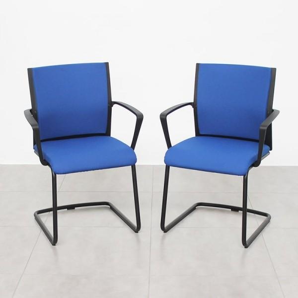 Pack de 2 confidente Werndl de Steelcase Muebles de Oficina Baratos | Tienda Online Muebles de Oficina Montiel