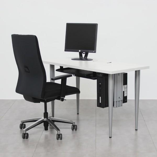 Mesa de ordenador con bandeja de teclado y ratón de Fellowes MM428