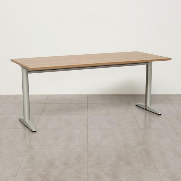 Mesa de escritorio con tablero Nogal Estoril MM434