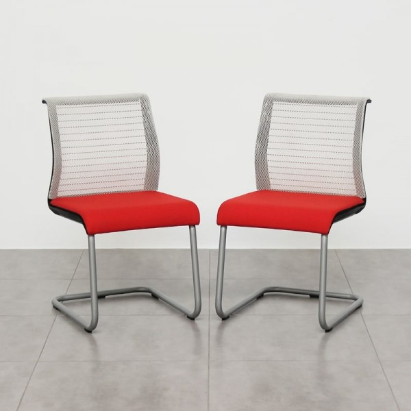 Sillas Oficina Madrid.Pack De 2 Sillas Confidentes Think De Steelcase