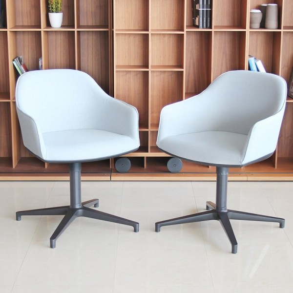 Pack de 2 Butacas Softshell Chair de Vitra