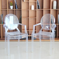 Pack de Sillas Louis Ghost de Kartell