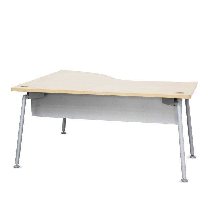 Mesa de Oficina con Ola y Faldón MM461