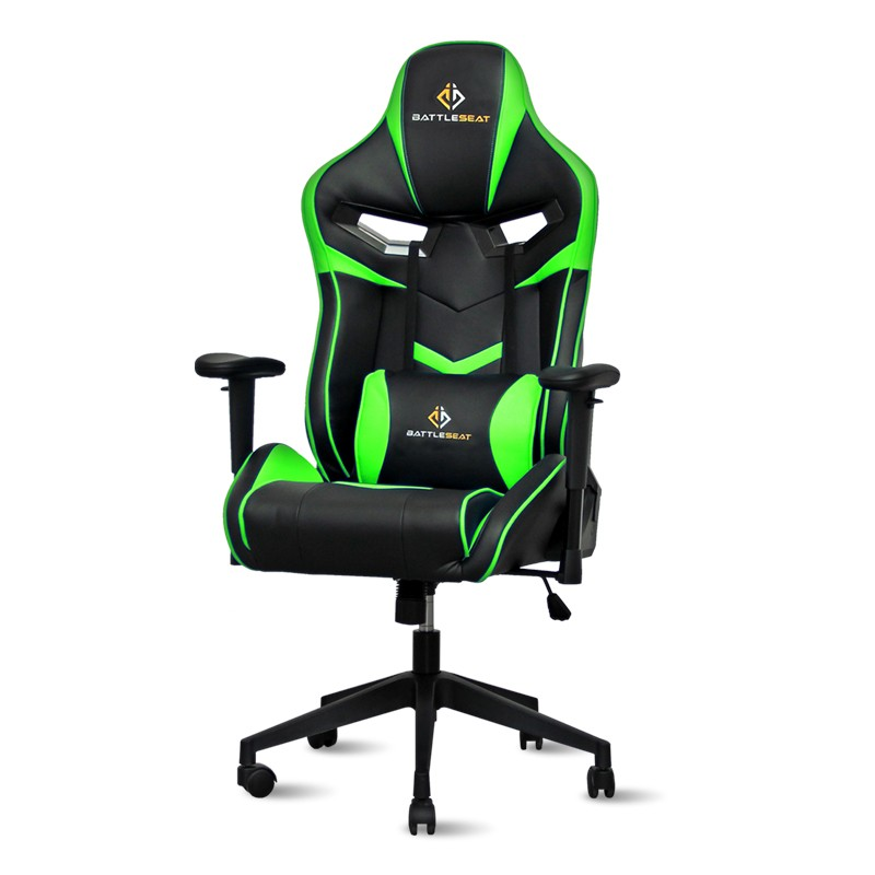 Silla Gaming Cyclone de BattleSeat Verde