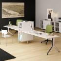 Mesa Doble con Estantería Maya de Ismobel comprar online