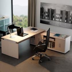 Mesa de Dirección con Credencia Ceres de Ismobel