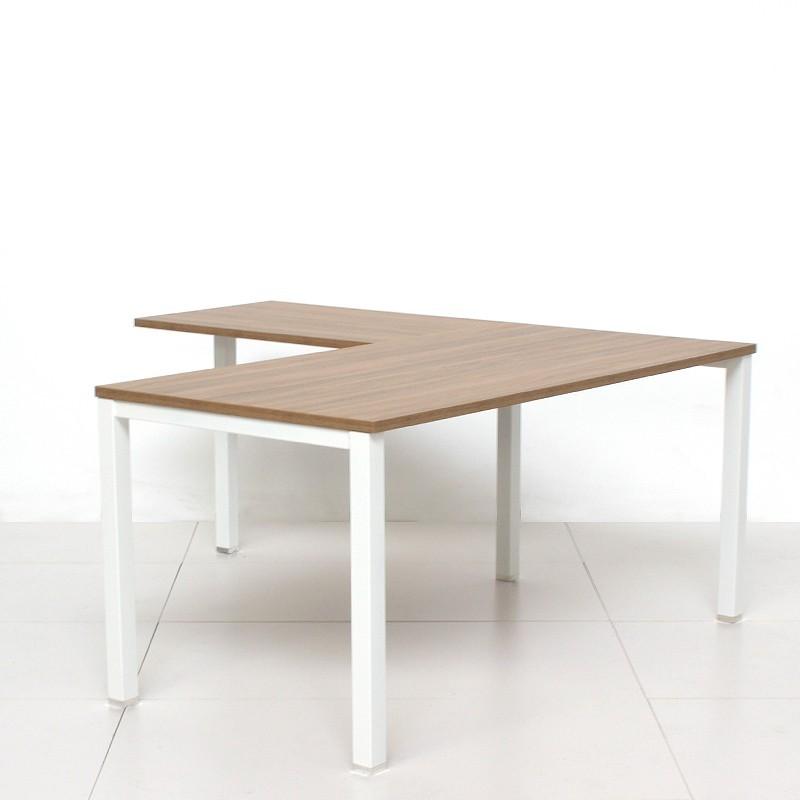 Mesa de Oficina con Ala Serie New