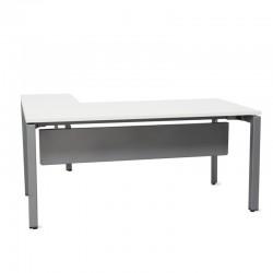Mesa de Oficina con Ala y Faldón Metálico de Steelcase